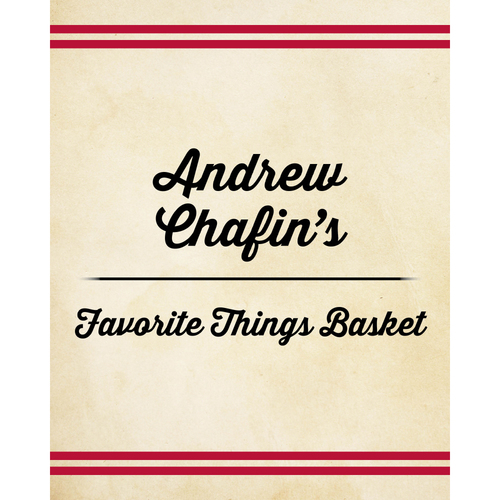 Photo of Andrew Chafin's Favorite Things Basket