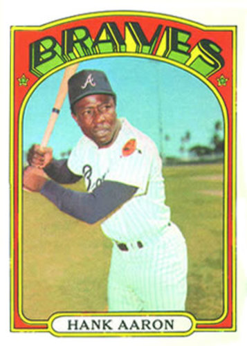 Photo of 1972 Topps #299 Hank Aaron