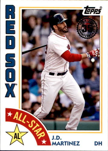 Photo of 2019 Topps '84 Topps All Stars #84ASJM J.D. Martinez