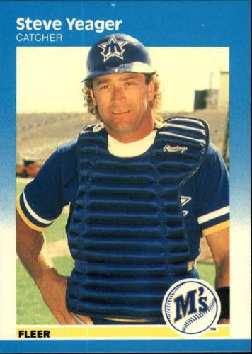 Photo of 1987 Fleer #599 Steve Yeager