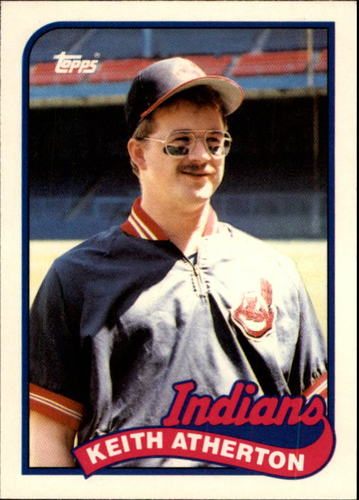 Photo of 1989 Topps Traded #4T Keith Atherton