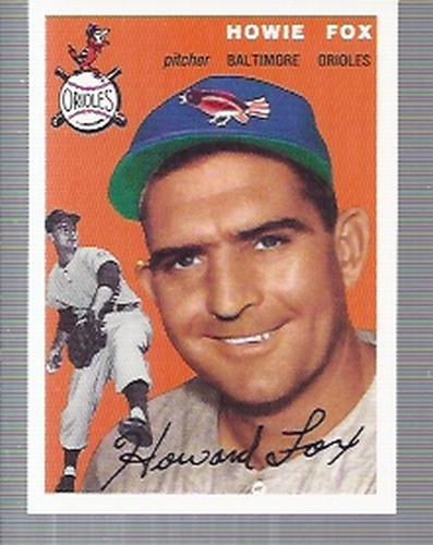 Photo of 1994 Topps Archives '54 #246 Howie Fox