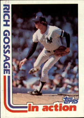 Photo of 1982 Topps #771 Rich Gossage IA