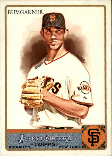 Photo of 2011 Topps Allen and Ginter #304 Madison Bumgarner SP
