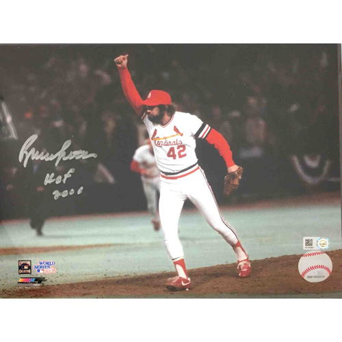 Photo of Cardinals Authentics: Bruce Sutter HOF06 Autographed Photo