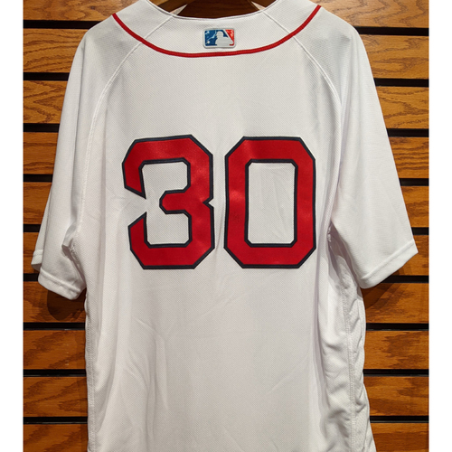 Photo of Ron Roenicke #30 Team Issued Home White Jersey