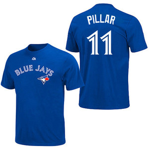 Toronto Blue Jays Youth Kevin Pillar T-Shirt by Majestic