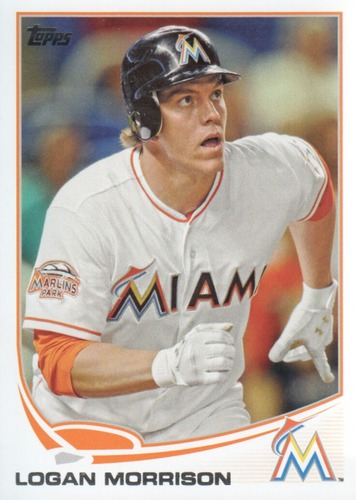 Photo of 2013 Topps #409 Logan Morrison