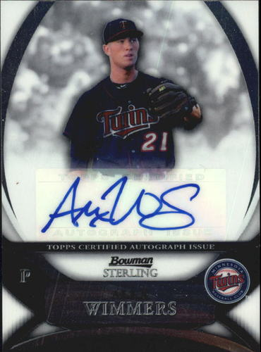 Photo of 2010 Bowman Sterling Prospect Autographs #AW Alex Wimmers