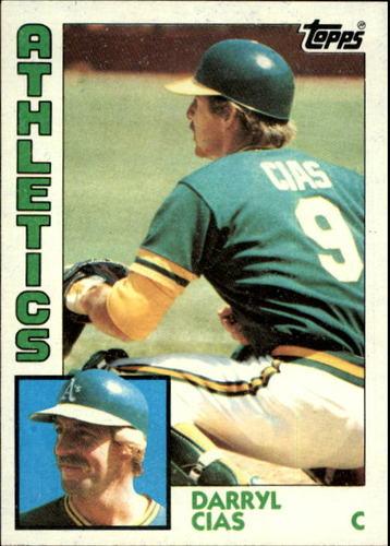 Photo of 1984 Topps #159 Darryl Cias