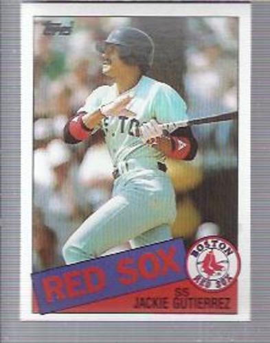 Photo of 1985 Topps #89 Jackie Gutierrez