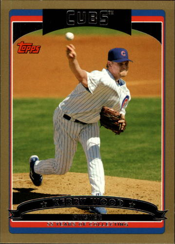 Photo of 2006 Topps Gold #80 Kerry Wood