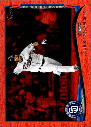 Photo of 2014 Topps Update Red Hot Foil #US324 Alexi Amarista