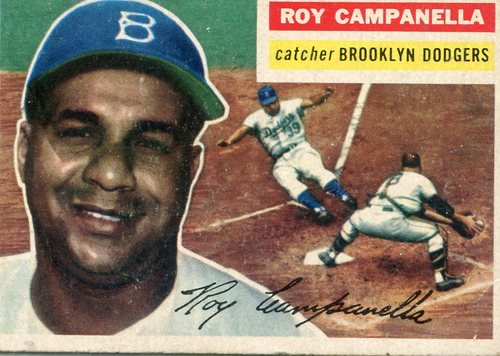 Photo of 1956 Topps #101 Roy Campanella Hall of Fame Class of 1969