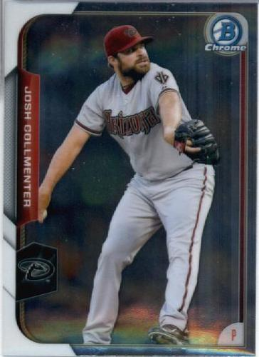 Photo of 2015 Bowman Chrome #78 Josh Collmenter