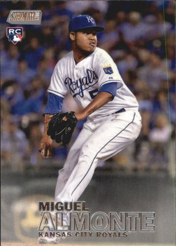 Photo of 2016 Stadium Club #61 Miguel Almonte RC