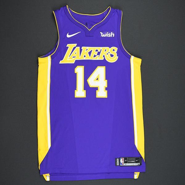 Brandon Ingram - Los Angeles Lakers - 2017-18 NBA Season - Game ...