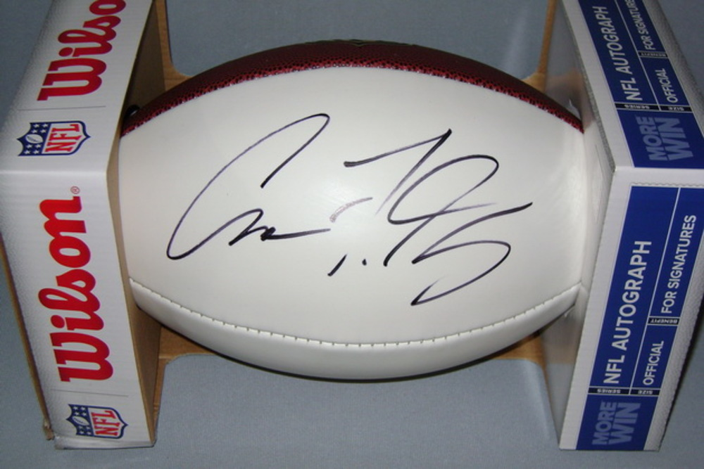 NFL - JAGUARS AVERY GENNESY SIGNED PANEL BALL