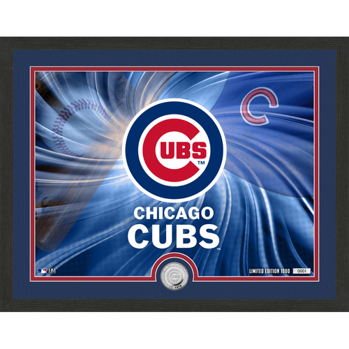 "Photo of Chicago Cubs Pride 16""x 20"" Silver Coin Photo Mint"