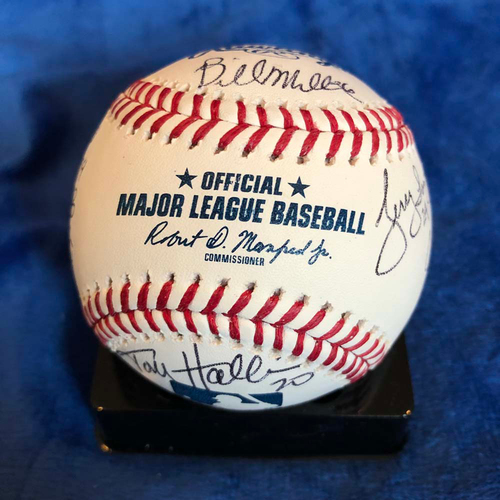 Photo of UMPS CARE AUCTION: 2019 Crew Chiefs Signed Baseball