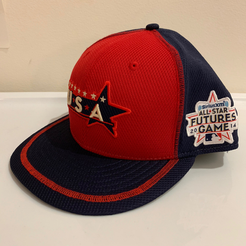 Photo of 2014 All Star Futures Game -  Game Used Cap  - Sean Coyle (Boston Red Sox) Size - 7 -1/4