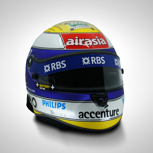 Photo of Nico Rosberg 2007 1:1 Replica Helmet