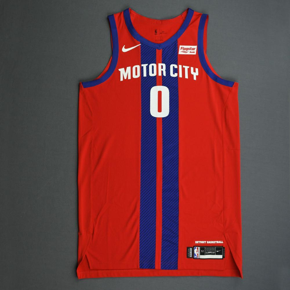 Andre Drummond - Detroit Pistons - Game-Worn 2nd Half City Edition ...
