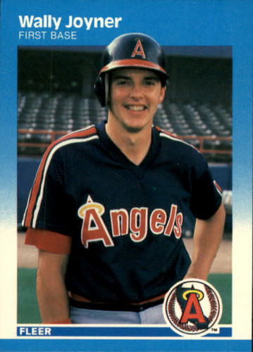 Photo of 1987 Fleer #86 Wally Joyner RC