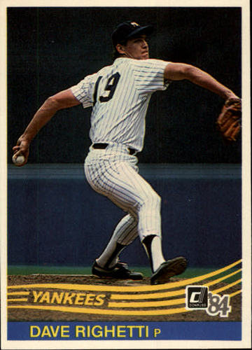 Photo of 1984 Donruss #103 Dave Righetti