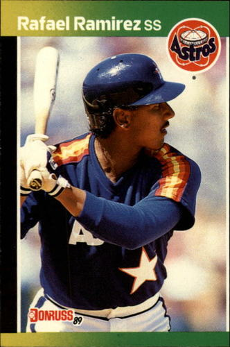 Photo of 1989 Donruss #509 Rafael Ramirez