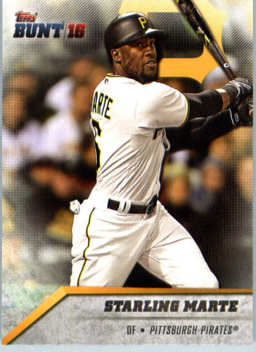 Photo of 2016 Topps Bunt #52 Starling Marte