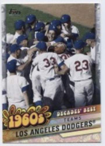 Photo of 2020 Topps Decades' Best #DB24 Los Angeles Dodgers