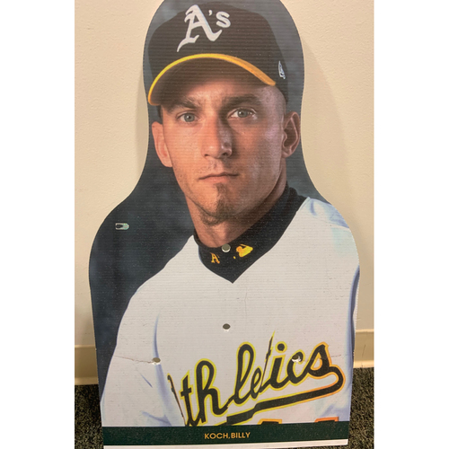 Photo of Oakland A's Community Fund: Billy Koch Coliseum Cutout