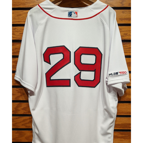 Photo of Jenrry Mejia #29 Team Issued Home White Jersey