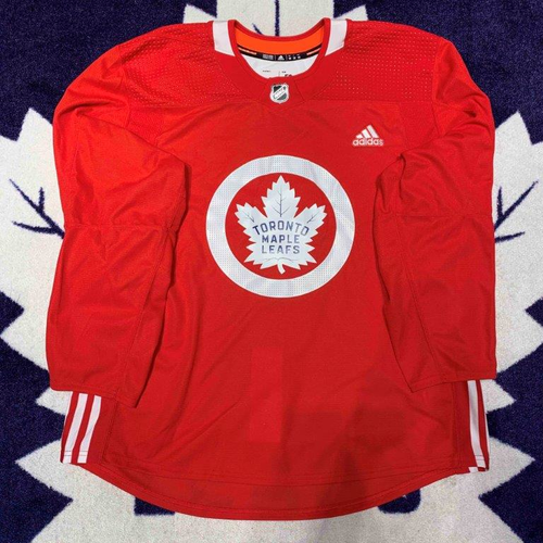 Adidas MiC Red Player Worn Practice Jersey (Size 58)