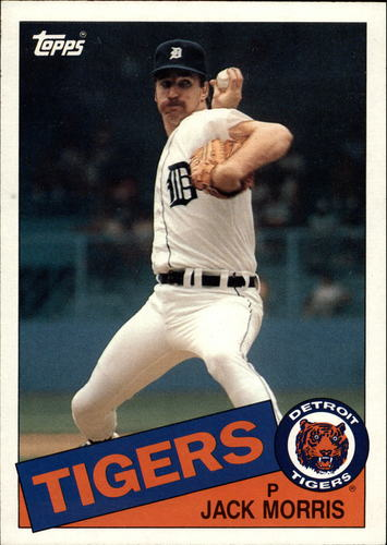 Photo of 1985 Topps Super #43 Jack Morris