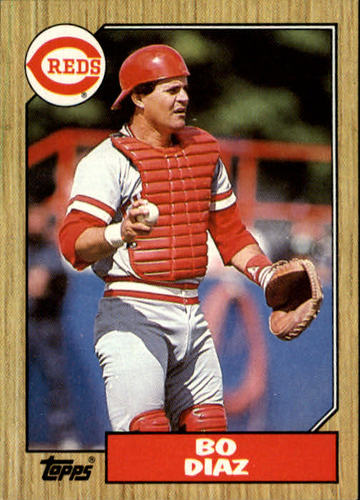 Photo of 1987 Topps #41 Bo Diaz