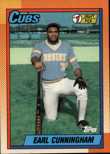Photo of 1990 Topps #134 Earl Cunningham FDP RC