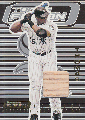 Photo of 2001 Topps Fusion Feature #F6 Frank Thomas Bat