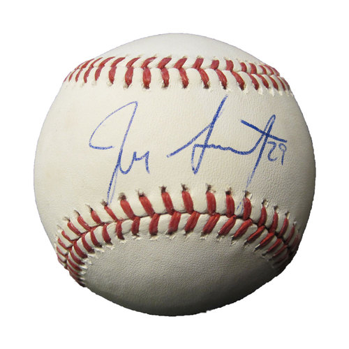 Photo of San Francisco Giants - Autographed Ball - Jeff Samardzija