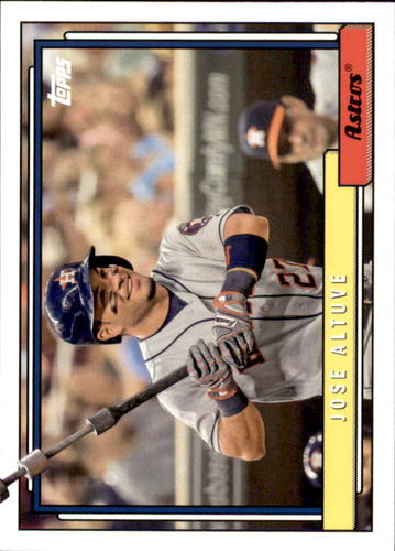 Photo of 2017 Topps Archives #293 Jose Altuve