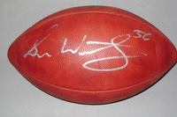 FALCONS - SEAN WEATHERSPOON SIGNED AUTHENTIC FOOTBALL