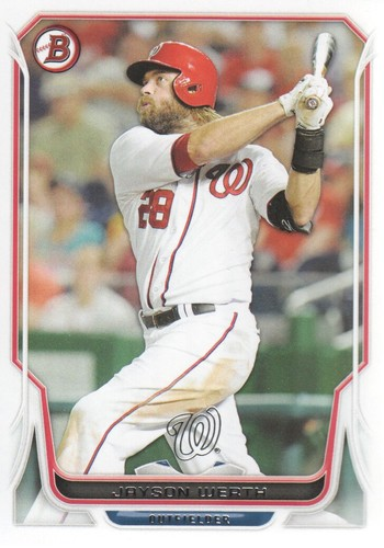 Photo of 2014 Bowman #47 Jayson Werth