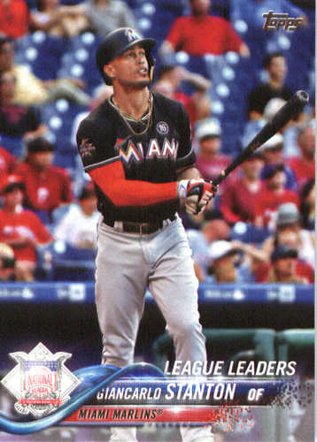 Photo of 2018 Topps #45 Giancarlo Stanton LL