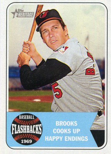 Photo of 2018 Topps Heritage Baseball Flashbacks #BFBR Brooks Robinson