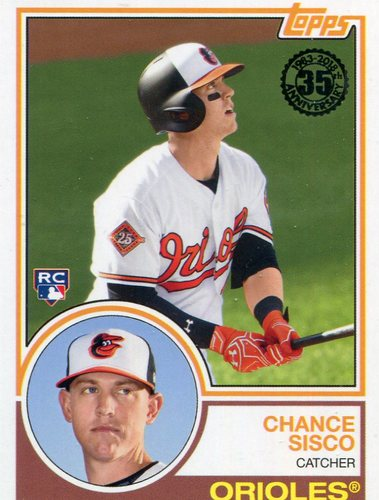 Photo of 2018 Topps '83 Rookies #836 Chance Sisco