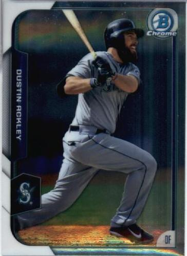 Photo of 2015 Bowman Chrome #80 Dustin Ackley