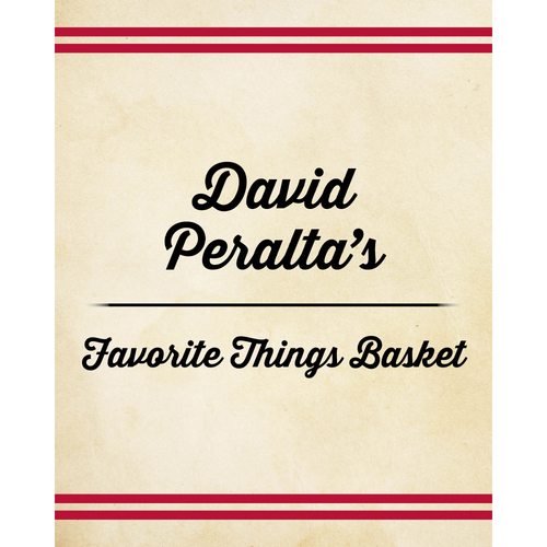 Photo of David Peralta's Favorite Things Basket
