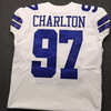 Crucial Catch - Cowboys Taco Charlton Signed Game Issued Jersey Size 46 w/Prova Authentication