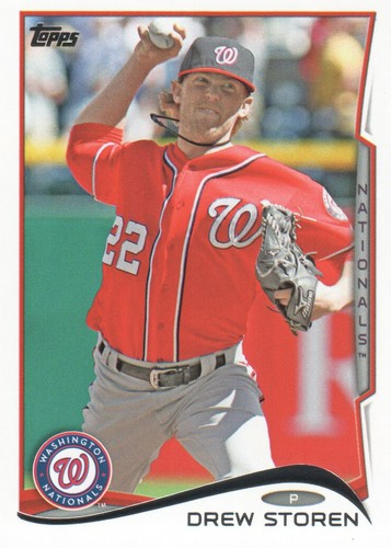 Photo of 2014 Topps #615 Drew Storen
